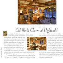 Aspen Highlands Ski in Ski Out Home featured in Aspen Sojourner Magazine